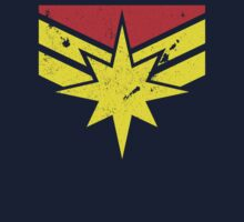 Distressed Captain Marvel by drpsychoswanner