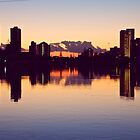 Sunrise over surfers paradise by sarcalder