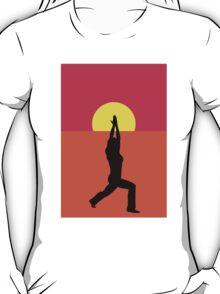 Pop Art Yoga Warrior T-Shirt