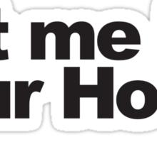Hodor looks for love Sticker