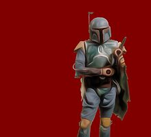 Boba Fett by uglybyproxy