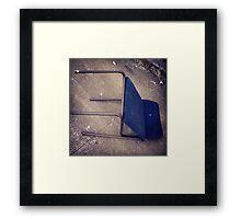 """Blue """"Recliner"""" on Broadway Framed Print"""