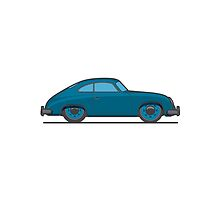 #18 Porsche 356 by brownjamesdraws