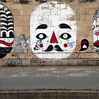 Graffiti Mimes by phil decocco