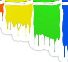 Color Kicks Sticker