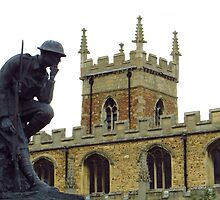 WW2 Memorial, Huntingdon by wiggyofipswich