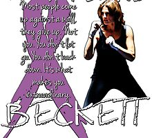 Fight Like Beckett - Cancer Awareness by Gwright313