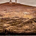 Anacapa Island Lighthouse HDR by damhotpepper