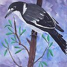 'BUTCHER BIRD' by jansimpressions