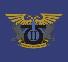Ultramarines Crest, Imperium of Man (Warhammer 40K) by Larsonary