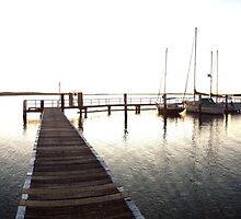 Sunset Wharf by kcikr