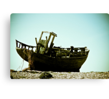 High and Dry Canvas Print