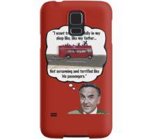 Bob Monkhouse: Terrified Passengers Quote Samsung Galaxy Case/Skin