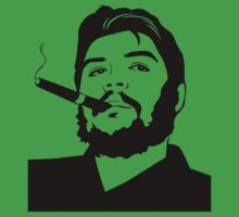 Che Guevara cigar smoking T-shirt by CigarInspector