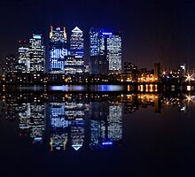 London Skyline panoramic by Ian Hufton