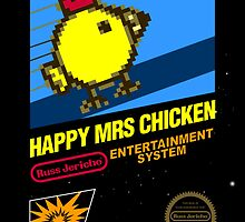 Happy Mrs Chicken Phone Case by Russ Jericho