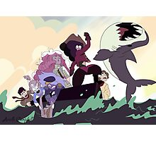 Crystal Gems on the high seas Photographic Print