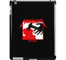 Minnesota Oh Geez Em All iPad Case/Skin