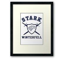 House Stark - Coat of Arms Framed Print
