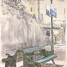 Leura Station by Peter Brandt
