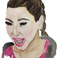 Kim Kardashian Crying by bexsimone