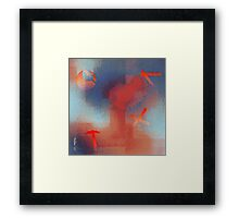 Crucifixion by collective agreement Framed Print