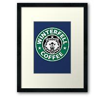 Winterfell Coffee (Starbucks) Framed Print