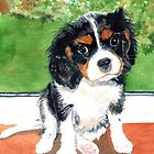 Painting of Charlie  by AnnDixon