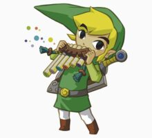 Zelda blowing Flute by Kwon  Woo