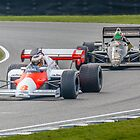 Lauda Vs Senna by Trevor Middleton