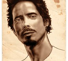 Chris Cornell portrait by Art-Syndrome