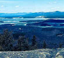 Mountaintop View by crazydavebehere