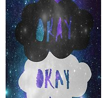 Okay Okay Galaxy iPhone Case by arosef1027