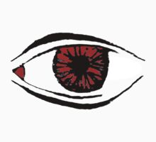Red Eye Cartoon Comic Cyberpunk Sticker by tellurian