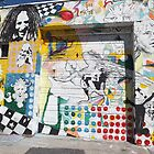 Colorful Mural, Coles Street, Jersey City, New Jersey by lenspiro