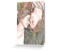 The fault in our stars drawing Greeting Card