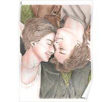 The fault in our stars drawing Poster
