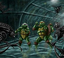 TMNT Vs. Aliens by Brian J. Murphy
