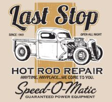 Last Stop Hot Rod Repair by motorlegends