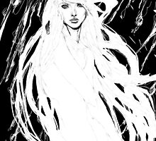 Girl In The Storm by gyossaith