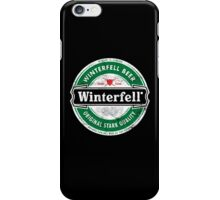 Winterfell Beer - Brewed for All Men of The North iPhone Case/Skin