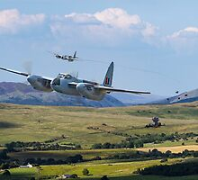 RAF Mosquito - Train Buster by warbirds