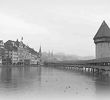 Kapellbrucke in Lucerne by PrivateVices