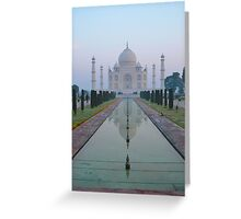 Incredible India - Taj Mahal Greeting Card