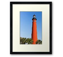 Lighthouse at Ponce Inlet Framed Print