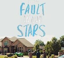 tfios movie poster case  by kiara fulk