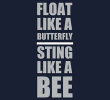 Float like a butterfly Muhammad Ali quotes by syshinobi