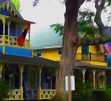 Porches Oak Bluffs by Silvalization
