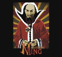 Flash Gordon - Ming The Merciless T-Shirt by OutlawOutfitter