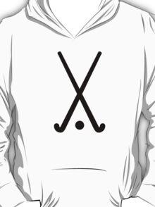 Field hockey clubs ball T-Shirt